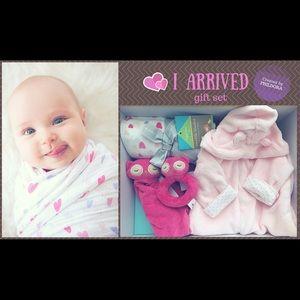 New born baby girl set
